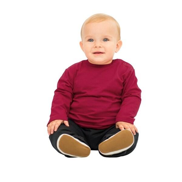 Pulla Bulla Baby Boy Long Sleeve Classic Tee Solid Shirt