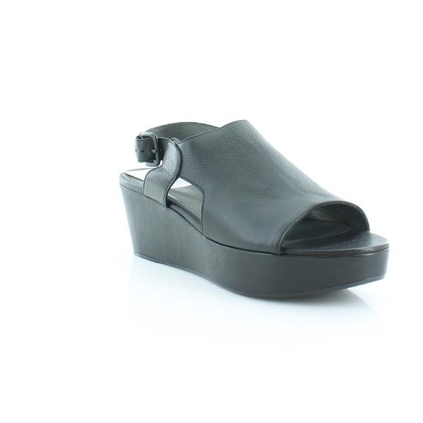 Stuart Weitzman Off And On Women's Sandals & Flip Flops Black - 10