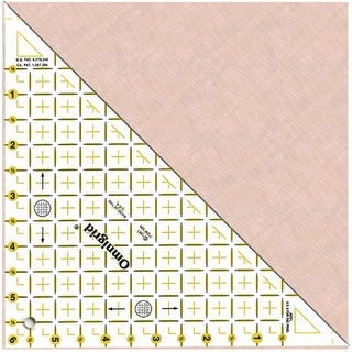"Omnigrid Right Triangle-Up To 6"" Sides"
