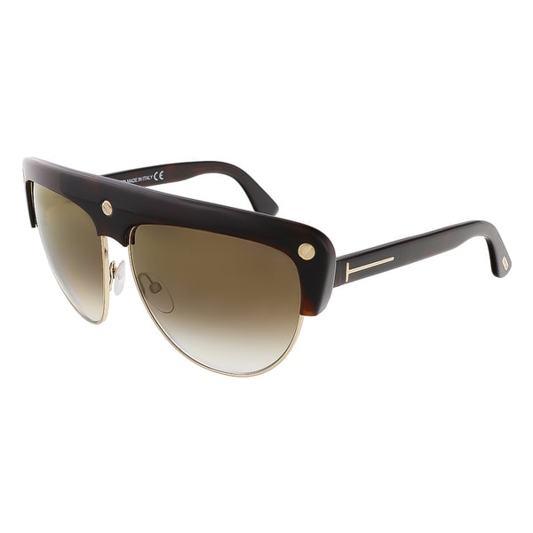 Tom Ford FT0318/S 52G Liane Brown Aviator Sunglasses