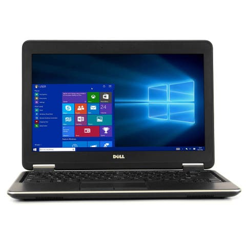 Dell Latitude Laptop Computer Intel Lightweight Windows 10 Refurbished PC Webcam