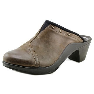 Romika Mokassetta 271 Women Round Toe Leather Brown Clogs