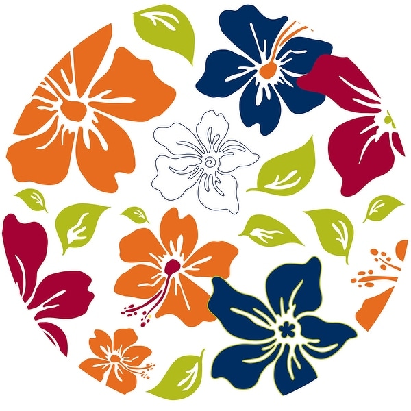 """Brewster TWPD90257 13"""" Diameter - Island Fusion Dot - Self-Adhesive Repositionable Vinyl Wall Decal - Set of 10"""