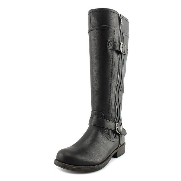 Dakota Chase Iris Women Round Toe Synthetic Knee High Boot