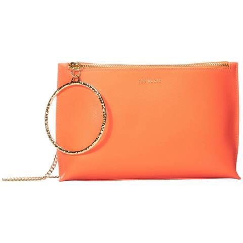 Ted Baker Ingaa Orange Wristlet Handbag Clutch Crossbody