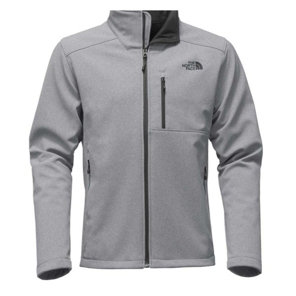 74221446b The North Face Mens Jacket Gray Size Large L Logo Full-Zip Hooded