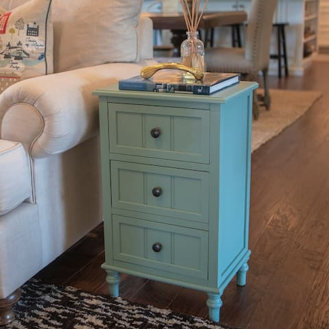 Copper Grove Hoxie Three Drawer Accent Table