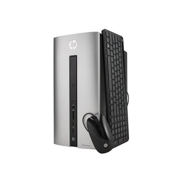 Refurbished - HP Pavilion 550-a114 Desktop AMD A8-6410 2GHz 8GB DDR3 1TB HDD WiFi Win 10 Home