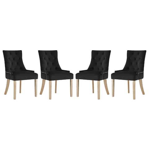 Copper Grove Vodice Velvet Dining Chair (Set of 4)