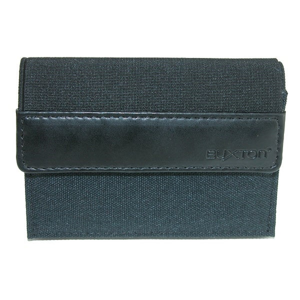 Buxton Men's RFID Protected Flex Trifold Stretch Wallet - One size