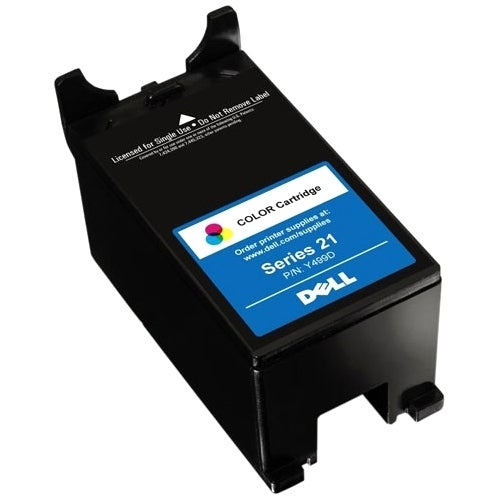 """Dell XG8R3 Dell XG8R3 Ink Cartridge - Cyan, Yellow, Magenta - Inkjet - 170 Page - 1 Pack"""