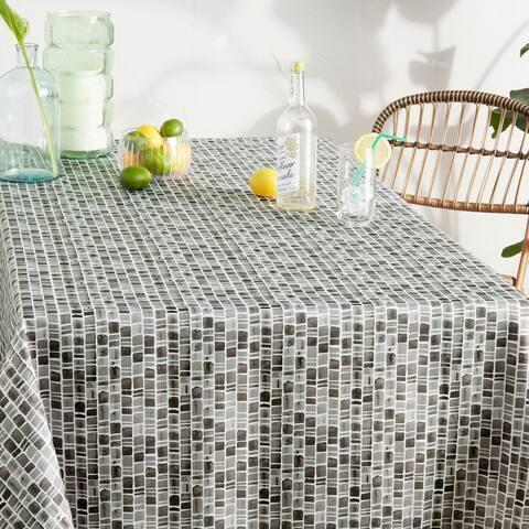 Tommy Bahama Caribbean Geometric Fabric Tablecloth