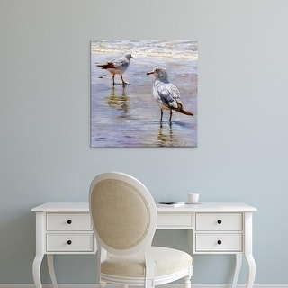 Easy Art Prints Lucia Heffernan's 'Waders' Premium Canvas Art