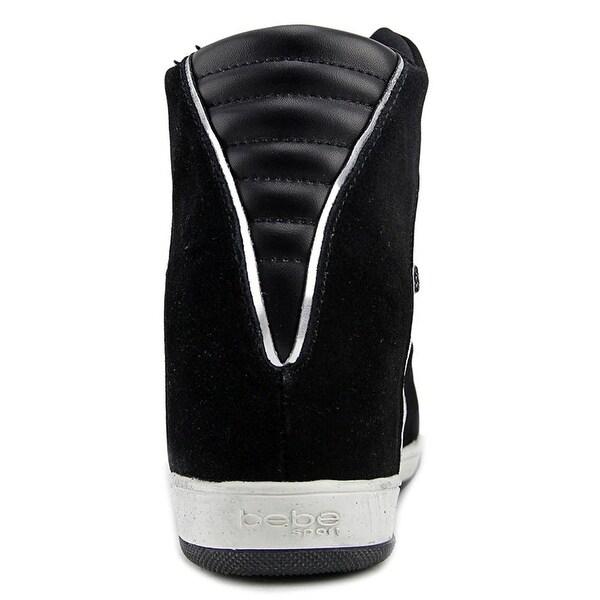 Shop Bebe Cheree Womens Wedge Sneakers