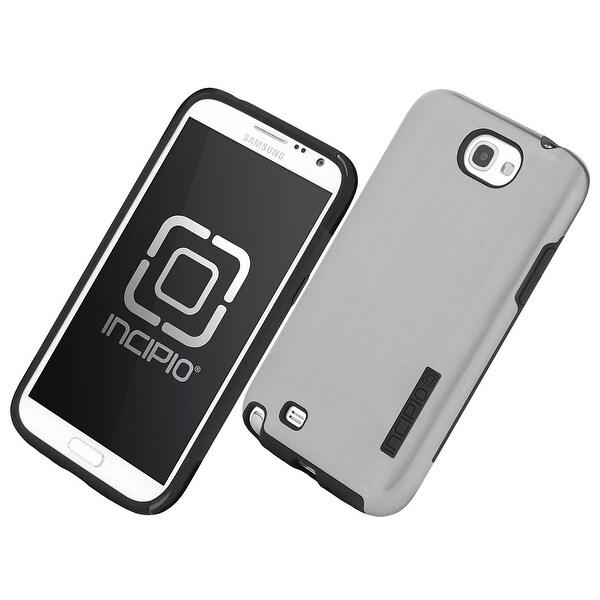 huge selection of b5801 55b6c Incipio Dual Pro Shine Case for Samsung Galaxy Note 2 - Silver/Black  (SA-326)