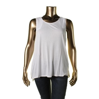 Two by Vince Camuto Womens Heathered Layered Tank Top - XL