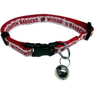 Collegiate Wisconsin Badgers Cat Collar