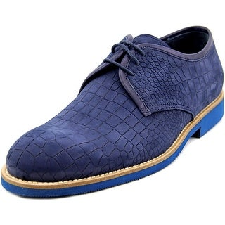 Dino Bigioni DB13261 Men Wingtip Toe Leather Blue Oxford