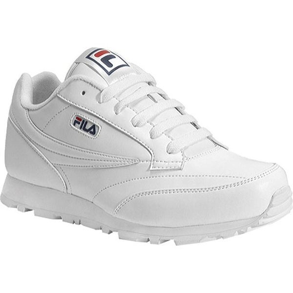 867392f12b8c Shop Fila Boys' Classico 9 White/Peacoat/Chinese Red - Free Shipping On  Orders Over $45 - Overstock - 9266716