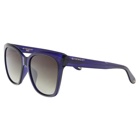 Givenchy GV7069S 0PJP Blue Square Sunglasses - 55-18-145