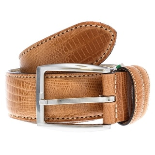Renato Balestra Y653 TAN Leather Mens Belt