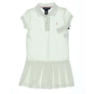 Ralph Lauren Girls Pleated Casual Dress - 5