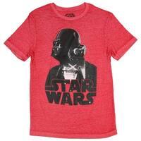Star Wars Darth Vader Collage Battle Burnout  Mens T-Shirt