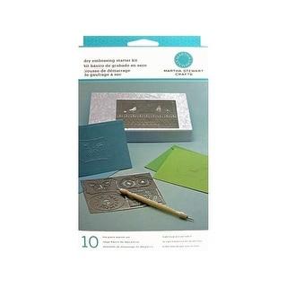 Martha Stewart Dry Embossing Starter Kit