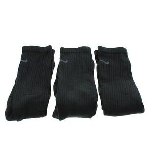 Nike Mens Cushioned Dri-Fit Crew Socks - L