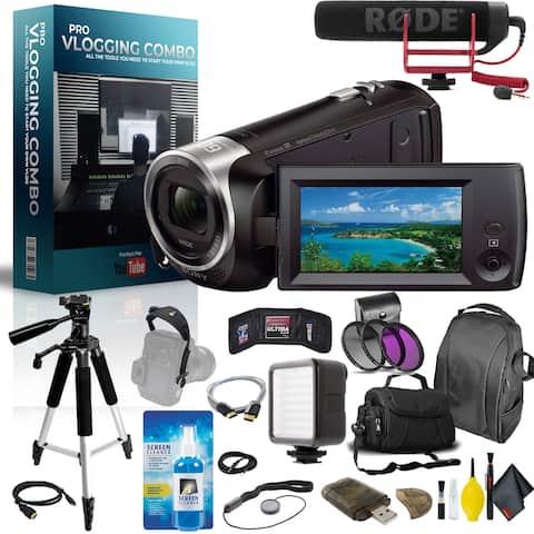 Sony Handycam Pro Vlogger Combo