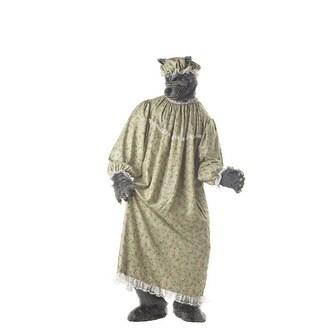 Shop Big Bad Wolf Granny Adult Mens Halloween Costume Large 42 44