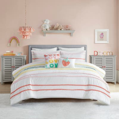 Mackenzie Cotton Comforter Set with Chenille Trim by Urban Habitat Kids