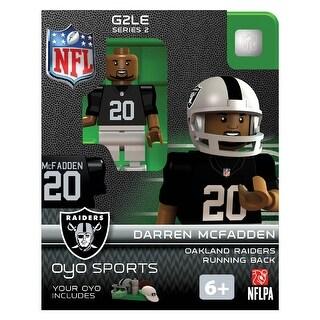 Oakland Raiders OYO Sports NFL Darren McFadden Minifigure - multi