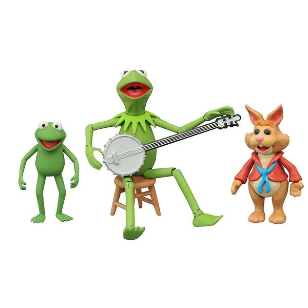 The Muppets Select Action Figure Set Kermit, Bean & Robin