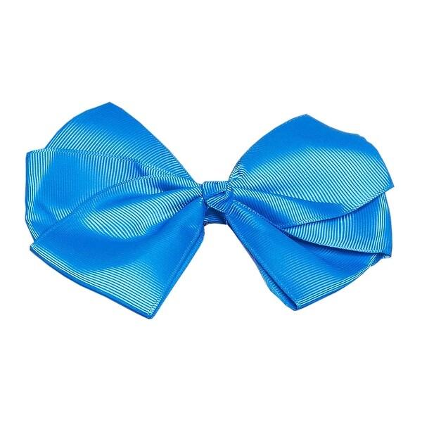 Happy Go Lucky Triple Loop Grosgrain Ribbon Hair Bow