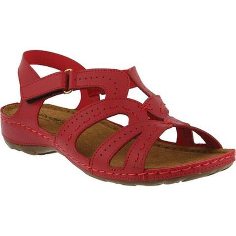 Flexus by Spring Step Women's Sambai Strappy Sandal Red