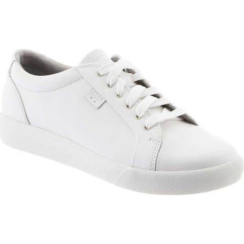 Klogs Women's Galley Sneaker White Smooth Leather