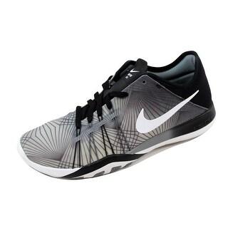 Nike Women's Free TR 6 Print Black/White-Cool Grey 833424-005