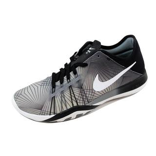 Nike Women's Free TR 6 Print Black/White-Cool Grey 833424-005 (