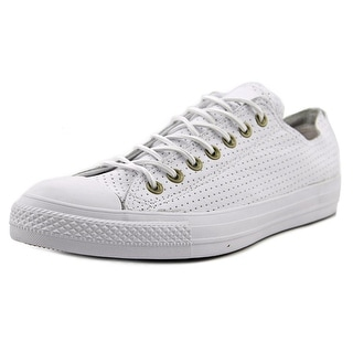 Converse Chuck Taylor All Star Oxford Women Round Toe Canvas White Sneakers