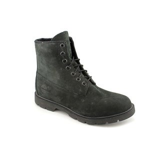 Timberland 6-inch Basic Waterproof Men Round Toe Leather Black Boot