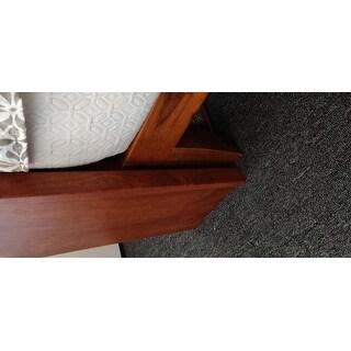 Porch & Den Neron 12-inch Solid Wood Queen-size Platform Bed