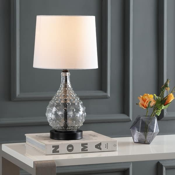 Safavieh Lighting 19 Inch Targari Led Table Lamp 10 X10 X19 On Sale Overstock 22256152