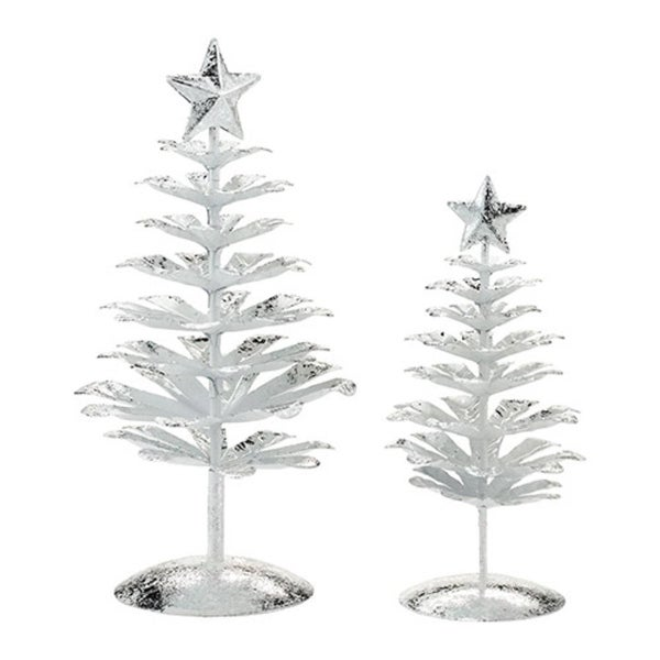 "Department 56 Snow Village ""Silver Pines"" Christmas Accessories #4030898"