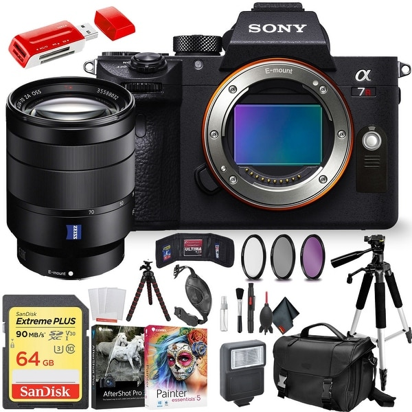 Sony Alpha a7R III Mirrorless Digital Camera Sony 24-70mm Lens and Accessories Combo