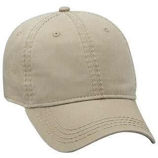 Superior Washed Cotton w/ Heavy Contrast Stitching Low Profile Caps