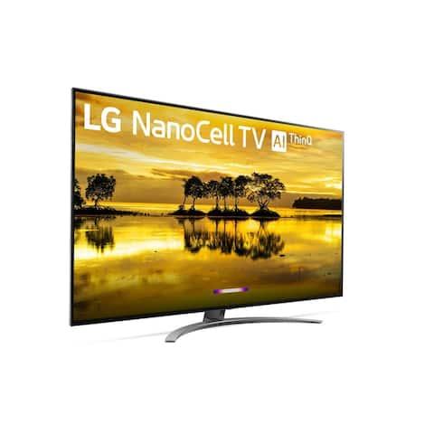 LG Series 55-inch 4K HDR Smart TV Bundle with Mount - Black - 55