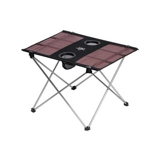 Monoprice Pure Outdoor Table for Two use for Backpacking, Camping, Hiking, Travel, Beach, Yard and More!