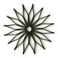 HIC16812 Spice Ratchet Blossom Multi-Use Silicone Trivet, Black - Thumbnail 0