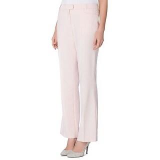 Tahari ASL Petite Karina Straight Leg Trousers Pants - 2p